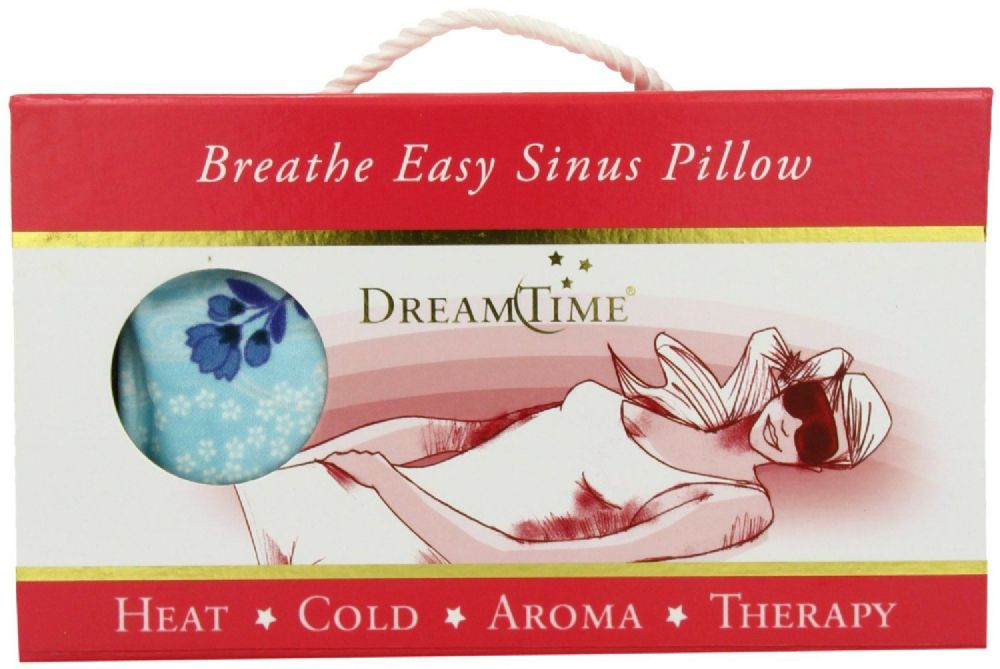 DreamTime Breathe Easy Sinus Pillow Calming Waters